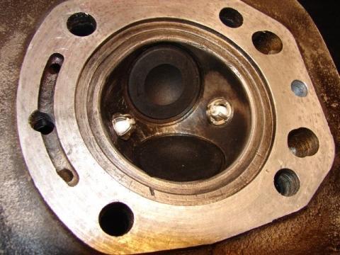 BMW Einzylinder Kopf mit Doppelzündung - (Motor, Elektronik, zündung)