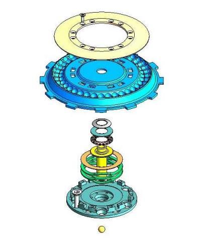 Rekluse Automatikkupplung (Quelle s. Link) - (Technik, Kupplung, Trommelbremse)