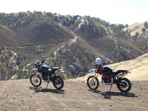 DUC Monster Enduros - (Umfrage, Motorradbranche, Beruf)