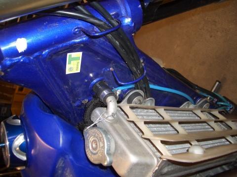 Fahrgestellnummer - (Rahmen, Pulverbeschichtung, Derbi Senda)