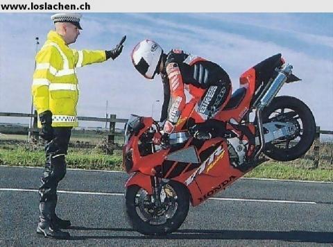 - (Motorrad, Sicherheit, Radarfalle)