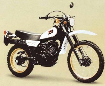 Yamaha XT 250 im Schowroom - (Enduro, Crosser)