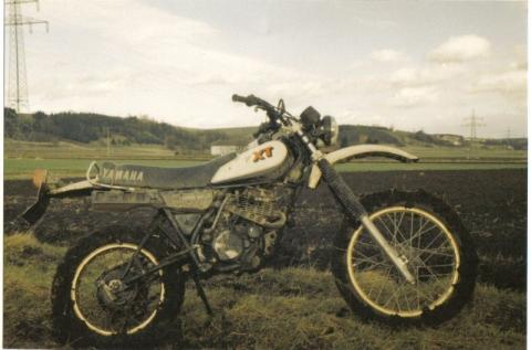 Yamaha XT 250 im Dreck! ;-) - (Enduro, Crosser)