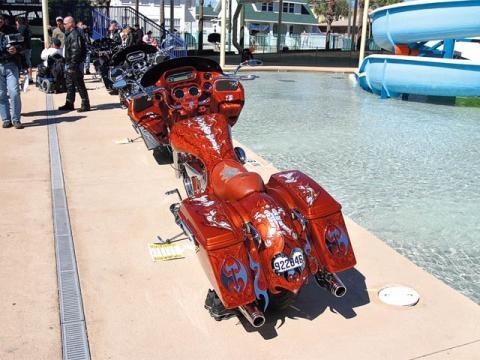 Daytona Beach 2009 - (Umfrage, anhänger, Goldwing)