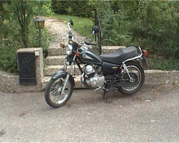 Zum rumhöppeln geeignet - (Motorrad, Führerschein)