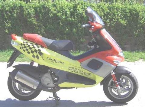 Gabel Malossi F32 - (Roller, kleine Räder, sturzgefährdet)