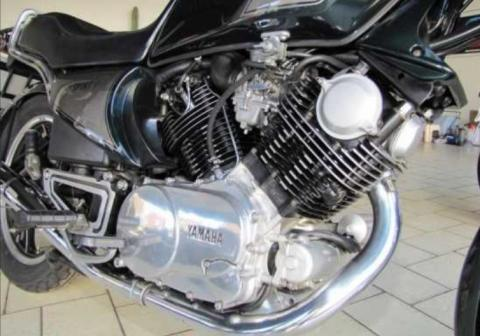 Yamaha TR1 - (Material, Motorblock, Rahmenkonstruktion)