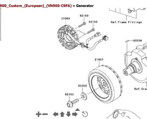 Generator - (Batterie, Lichtmaschine, Laderegler)