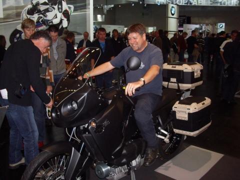 Track T800 CDI Messe Köln - (Getriebe, Dieselmotorrad, Motorradgetriebe)