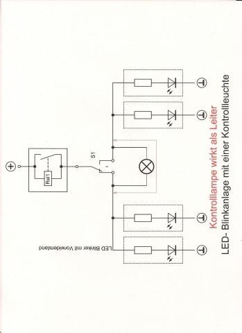 Die Kontrolle machts - (Yamaha FZR 600, 5 poliges Blinkerrelais)