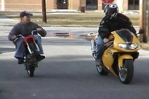- (Motorrad, Suzuki, Kawasaki)