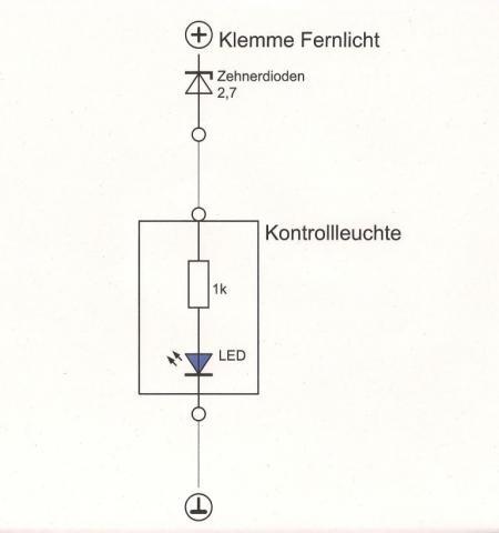 - (CBF 600, Fernlicht-LED)
