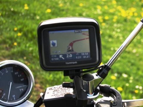 - (Motorrad, Navigation)