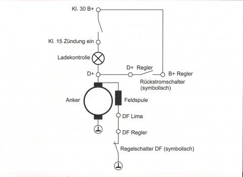 Lima und Regler - (Elektronik, Oldtimer, Mz)