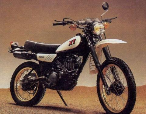 Yamaha XT250 Jg. 1979 - (TÜV, Beule)
