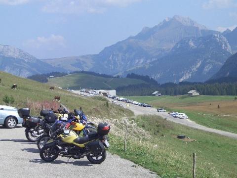 Alpenchallenge, 1. Mittagspause - (Tour, Seealpen)