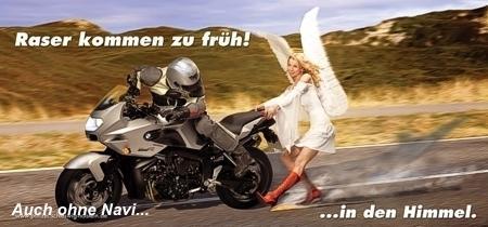 """Engel sind auch nur """"Geflügel"""". - (Gas problem, blieb stehen)"""