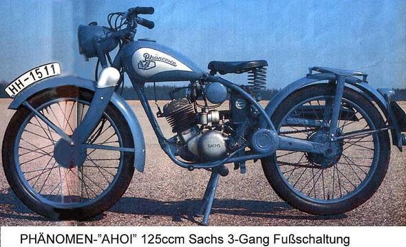 Phänomen Ahoi Sachs Dreigang - (Motorrad, 125ccm, 125er)