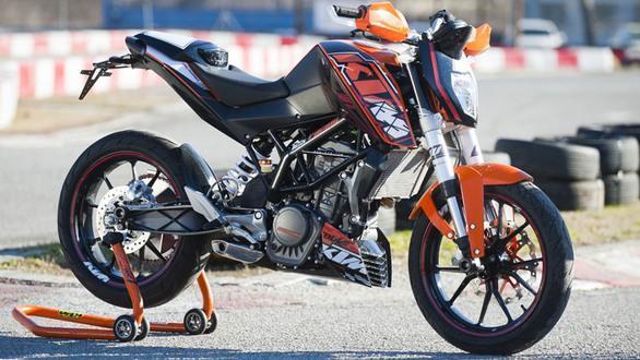 NEUE KTM Duke - (125ccm, 125 DUKE)