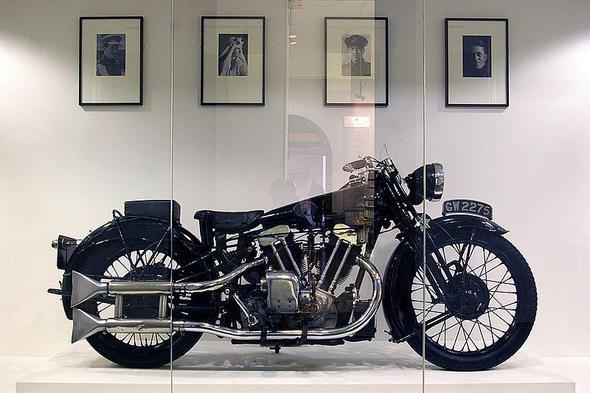 exklusives Motorrad - (chopper, bike)