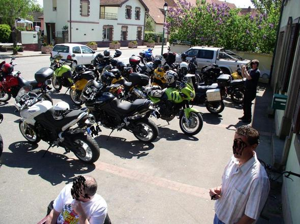 """Tiger """"nach der Jagd"""" - (Reiseenduro, Tourenmotorrad, großes motorrad)"""