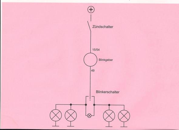 der rote Schaltplan - (blinker, defekt, simson)