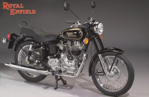 Royal Enfield Bullet 500 - (erstes Naked Bike, konzipiert, vom Hersteller)