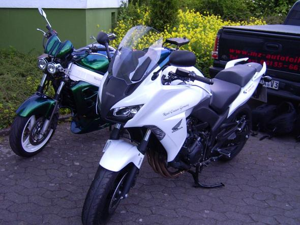 Unsere beiden Schmuckstücke  - (Honda, Tour, Kauf)