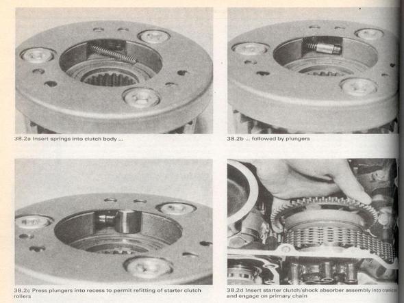 Auszug aus einem Werkstatthandbuch - (Startprobleme, Anlasser, Benelli)