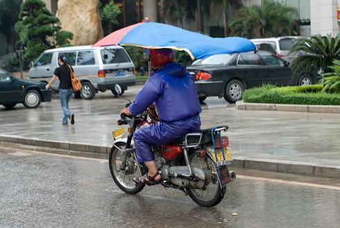 Regen1 - (Nässe, Regenfahrt)