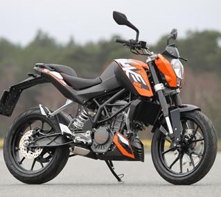 Duke 125 - (Motorrad, Motorradführerschein)