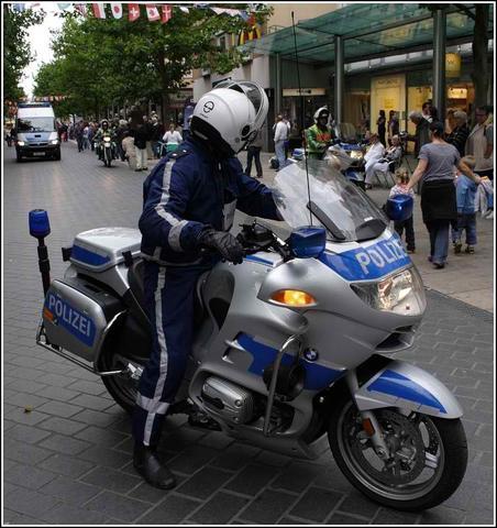 Motorradpolizei Bremerhafen - (Leder, Textil)
