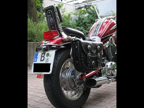VS2 - (Motorrad, Kennzeichenhalter, Plastik)