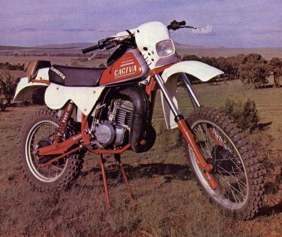Cagiva RX  - (Motorrad, Enduro, Geschwindigkeit)