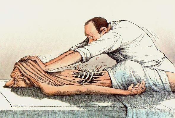 Massage - (Umfrage, Alter, Durchschnittsalter)