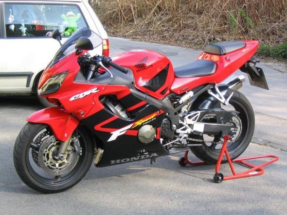 Honda CBR 600 F Sport. - (Montageständer, Aufbocken)