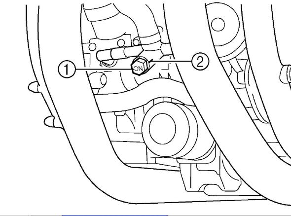 Ablassen - (V-Max 1200, Ablassventil Kühler)