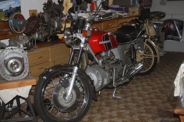 Hercules Wankel - (Motorrad, Supersportler, Spaßgeräte)