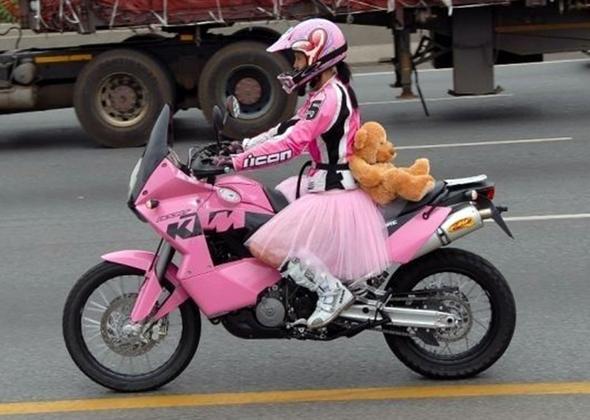 TÜTÜ auf dem Bike - (Kleidung, Ausrüstung)