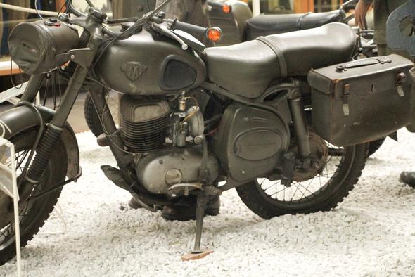 Maico 250 und uuups, Blinker - (Enduro, Straßenzulassung)