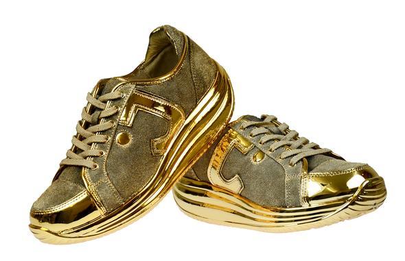 1-Goldschuh - (Motorrad, Schuhe)