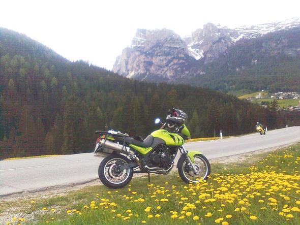 Reiseenduro Tiger bei Corvara - (Gebrauchtkauf, A2, Naked Bike)