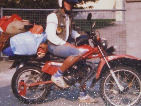 Enduro zum Camping- Urlaub - (Anfänger motorrad)