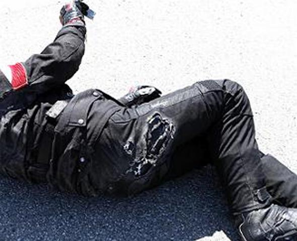 Hose-Textil - (Motorradkombi, Motorradkleider)