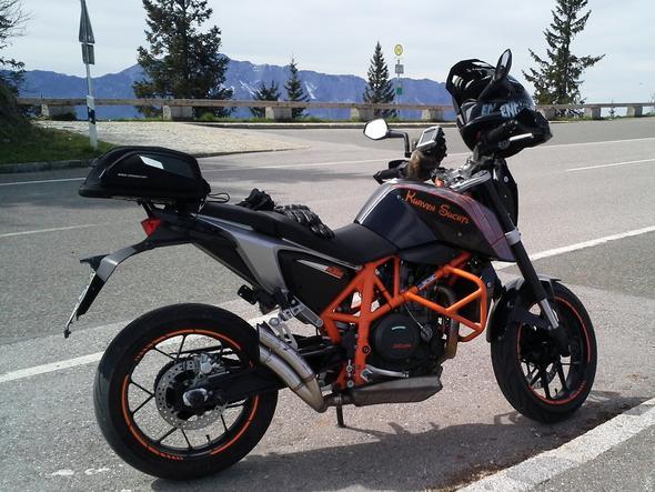 Duke am Rossfeld - (Motorrad, KTM, A1)