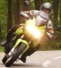 Tiger in der Pfalz - (Druckverlust Reifen Motorrad, Luftverlust Reifen Motorrad, Reifen Motorrad Schaden)