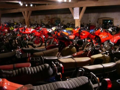 """Die """"rote Fraktion"""" - (Deutschland, Motorradmuseum)"""