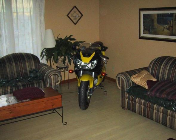 Bike-Zimmer2 - (Motorrad, Regen, Winterfest)