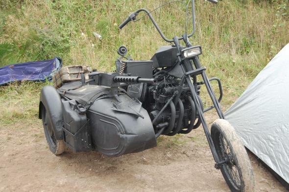 Chopper-Krad - (Enduro-Bekleidung)