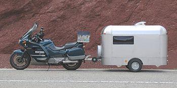 Wohnung-Anhänger - (Yamaha WR125X, Staufach)